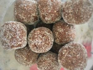 Dangerously delicious bourbon truffles