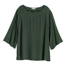 loose green top